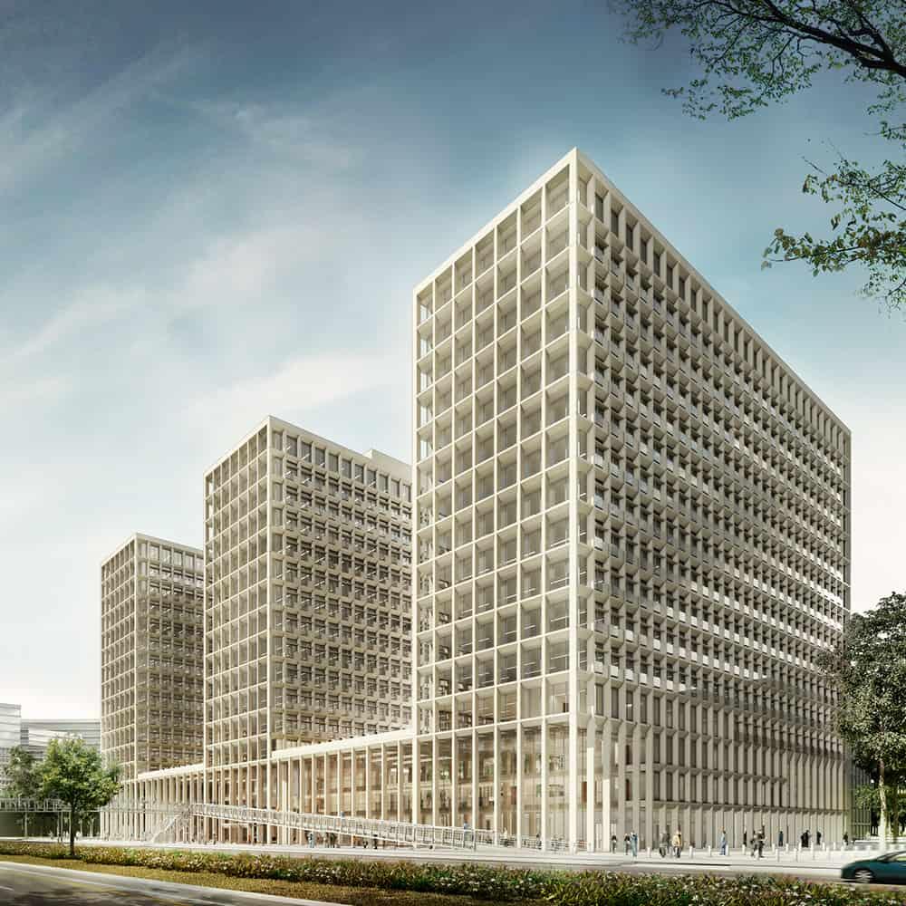 Edificio 1 del Nuevo Centro Administrativo Nacional