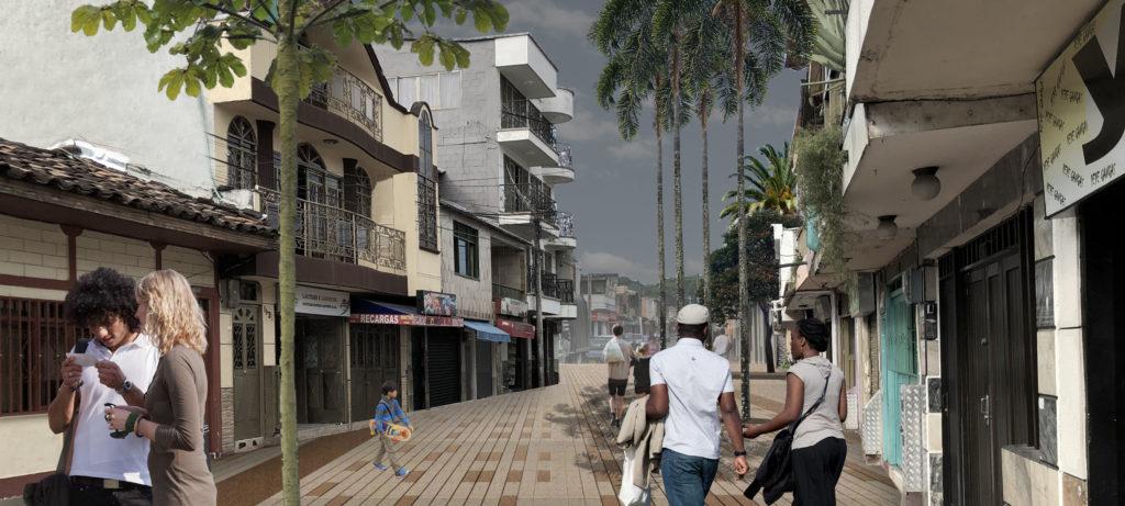3_Fotomontaje Calle 40X18